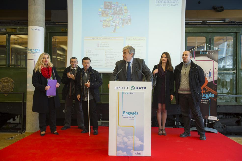 Remise des recompenses Fondation RATP