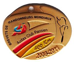 Medaille 600 km