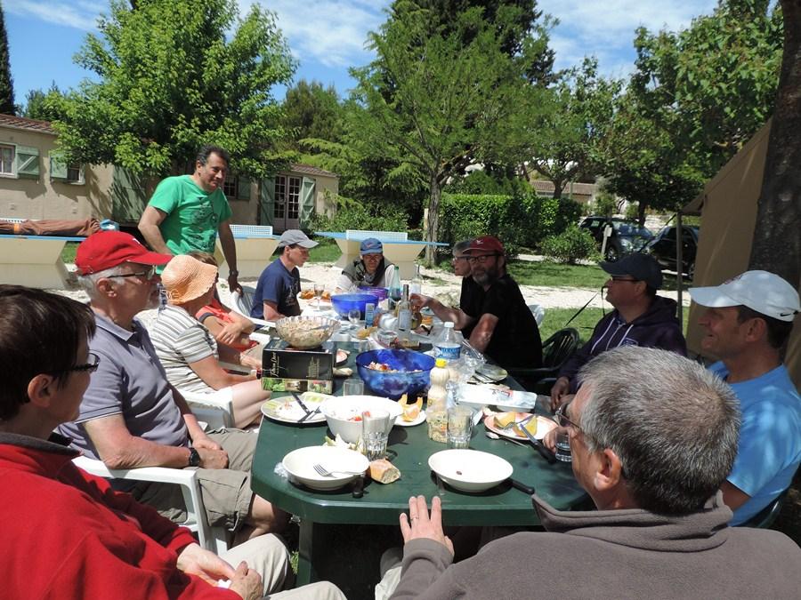 Discussion sur la jounée du lendemain :la montée du mont Ventoux