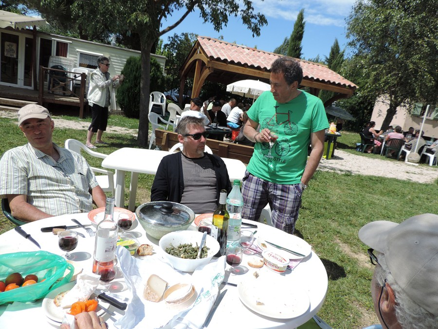 Une autre table avec Jean-Marc Lionel et Gerard Amato