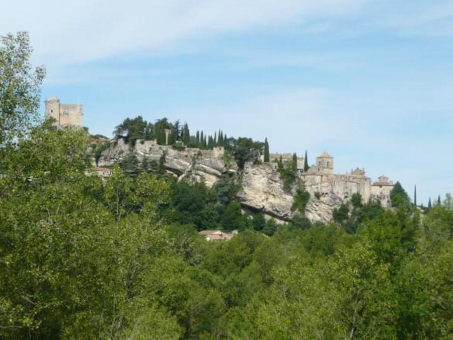 La partie médiévale de Vaison
