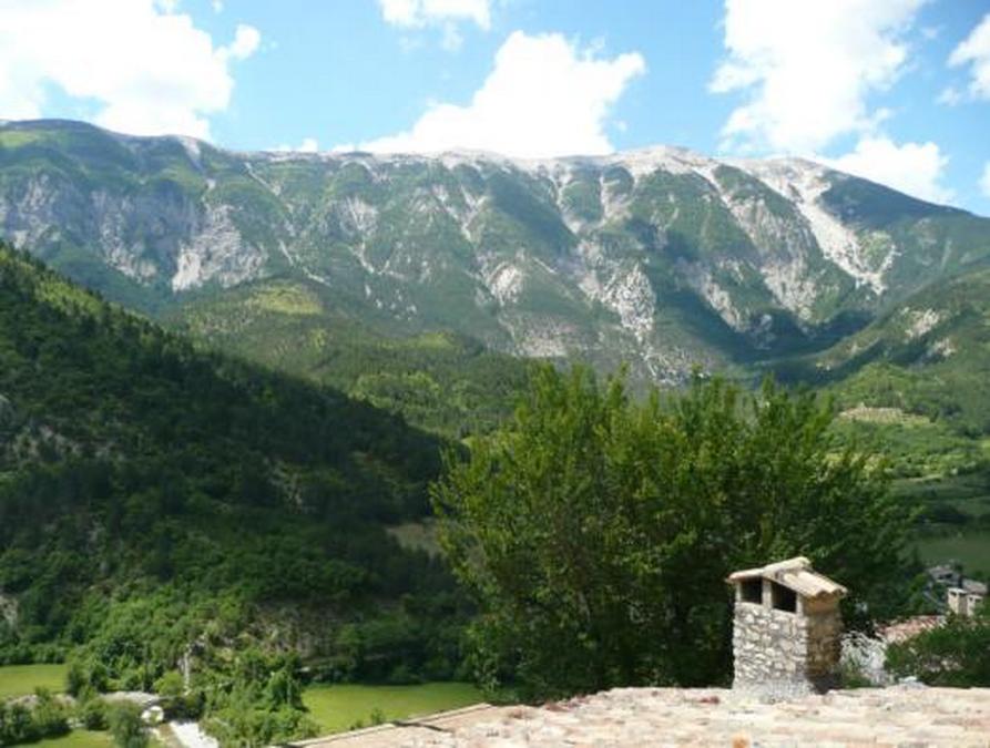 Panorama vu du village