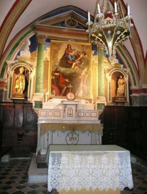 L'intérieur d'une Chapelle