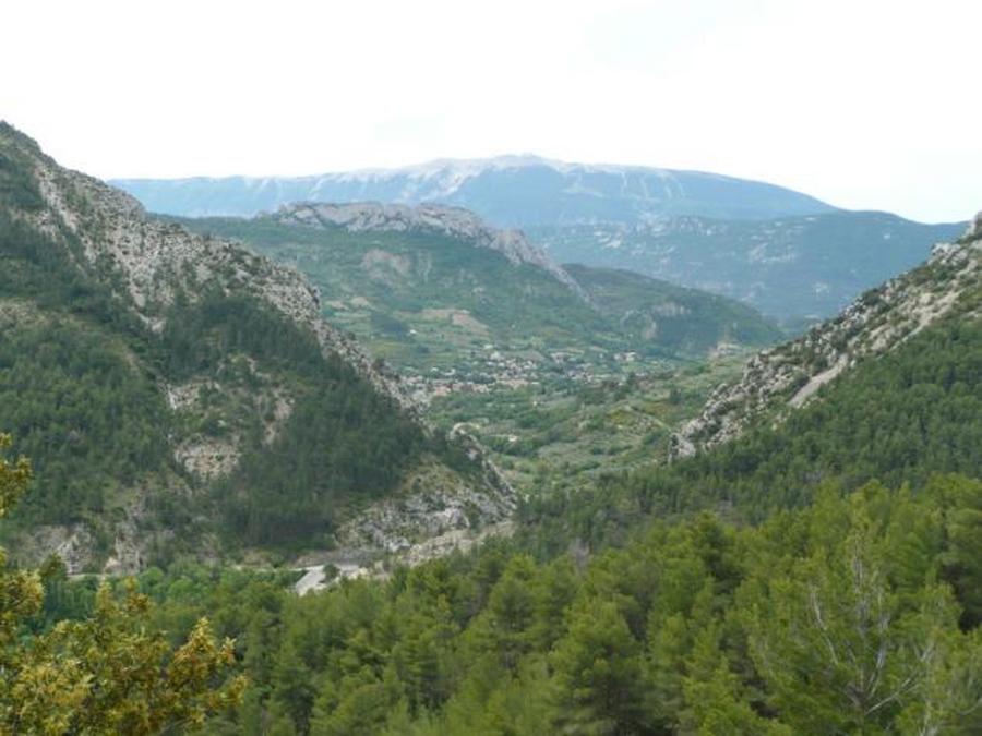 Panorama après le col d'EY