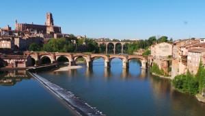 """Albi """"la Rouge"""" Cité épiscopale, patrimoine mondial de l'Unesco"""