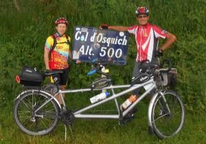 Joseph et Henri au col d'Osquich 500m
