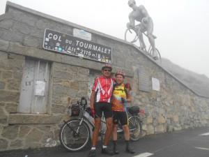 Au sommet du Tourmalet 2115 m