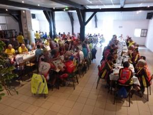 Le repas à Morey Saint-Denis