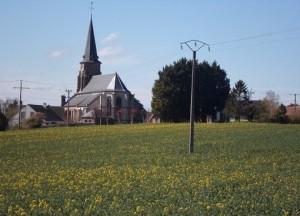 L'église d'Etouy dans l'Oise