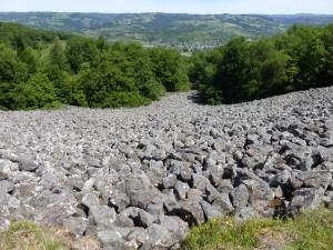 """""""La coulée de lave de Roquelaure"""" il y a 7,7millions d'années est en fait un éboulis balsatique"""