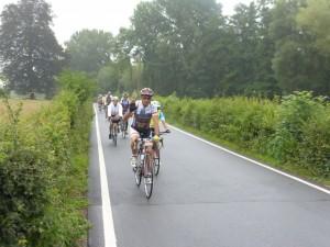 Une des nombreuses pistes cyclables