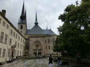 La cathédrale Notre Dame de Luxembourg