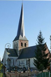 Le clocher tors de Bures en Bray