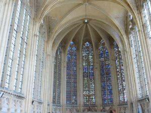 Vitraux de l'abbaye de Saint-Germer de Fly